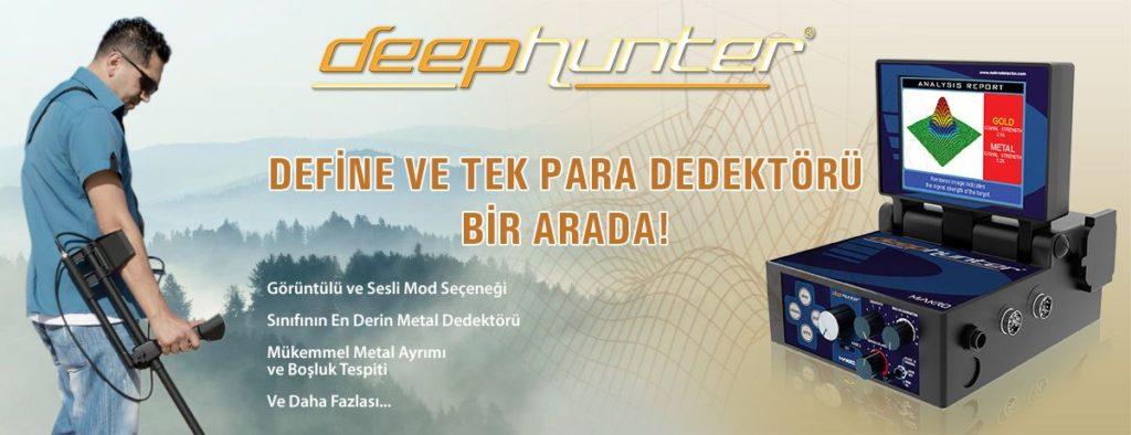 Deephunter Dedektör İle Keyifli Avlanmalar....