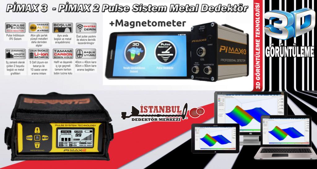 Pulse Sistemli Pimax Dedektör