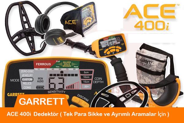 Garrett Ace 400 i Dedektörümüz
